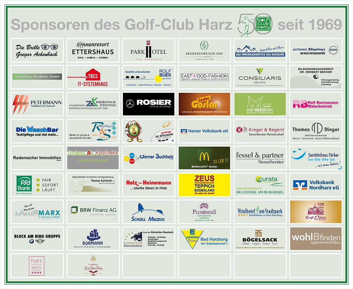 Sonsoren des Golf-Club Harz