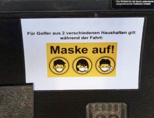 Maske auf: Carts erlaubt für Spieler aus verschiedenen Haushalten